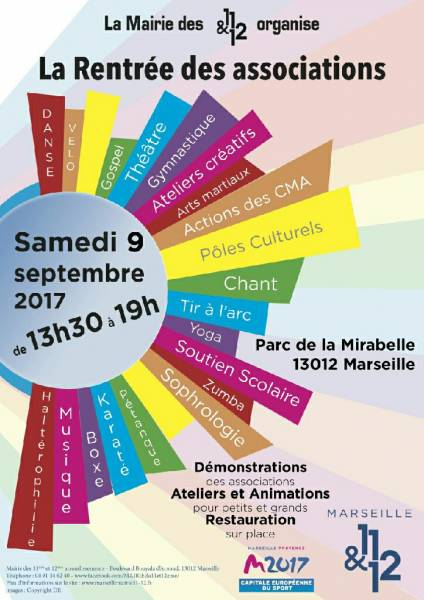 Forum des associations Marseille 11e/12e